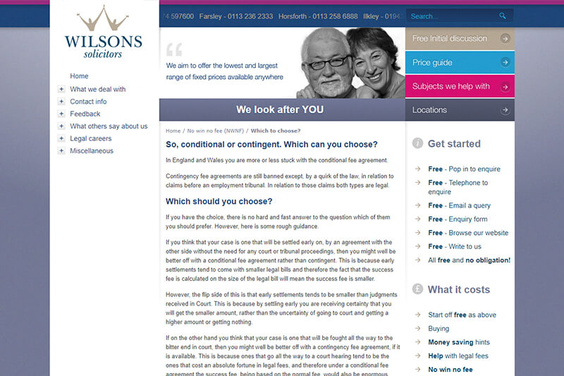 Wilsons Solicitors